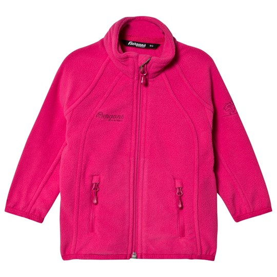 Bergans Hot Pink Bolga Fleece Jacket Pink