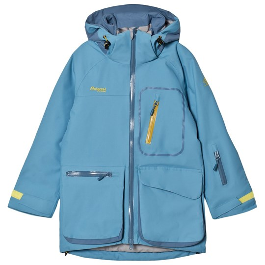 Bergans Light Blue Knyken Insulated Jacket Blue