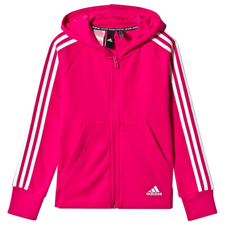 adidas Performance Pink Hoodie Babyshop.no