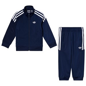 Image of adidas Originals Navy Branded Tracksuit 3-4 years (104 cm) (3125338395)