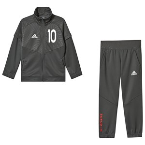 Image of adidas Performance Charcoal 10 Messi Tracksuit 13-14 years (164 cm) (3125311265)