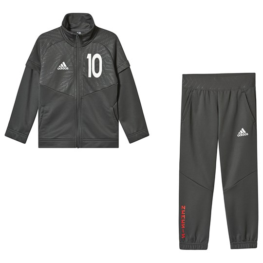 adidas Performance Charcoal 10 Messi Tracksuit legend ivy/white