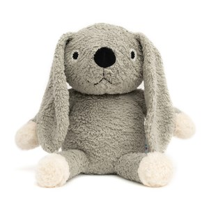 Image of natureZOO Organic Grey Rabbit Plush Soft Toy 0 - 24 months (1261382)