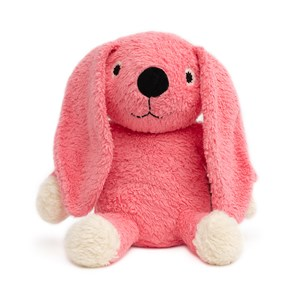 Image of natureZOO Organic Pink Rabbit Plush Soft Toy 0 - 24 months (1261383)
