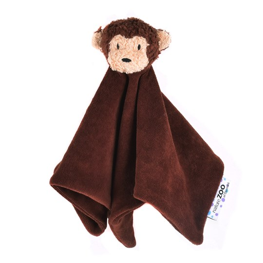 natureZOO Organic Brown monkey cuddle cloth