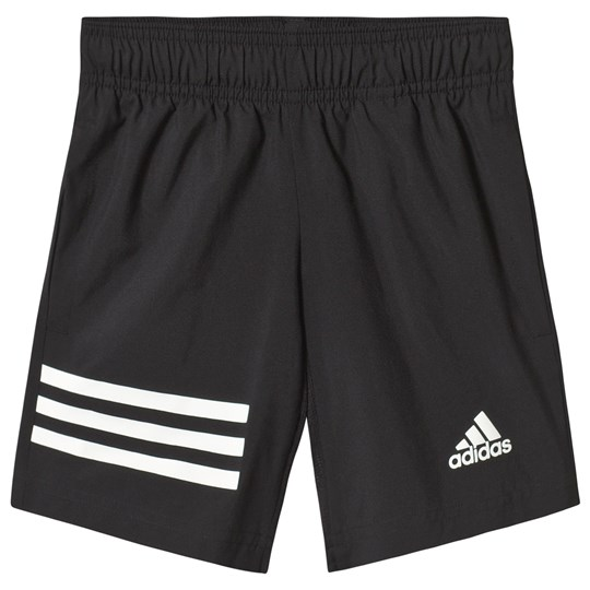 adidas Performance Black Branded Shorts Black
