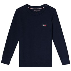 Tommy Hilfiger Navy Flag Knitted Sweater