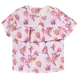 Image of Carrément Beau Floral Blouse Ruffle Sleeves 2 years (1232027)