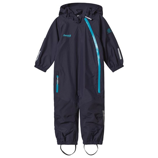 Bergans Navy Lilletind Kids Coverall Navy