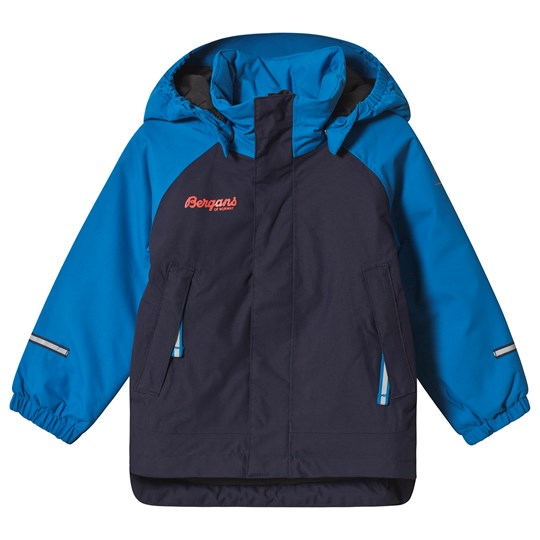 Bergans Sea Blue Storm Inulated Kids Jacket Blue