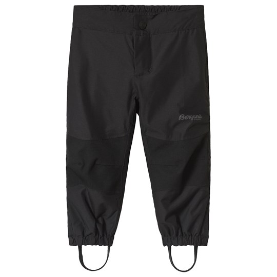 Bergans Black Knatten Kids Pants Black