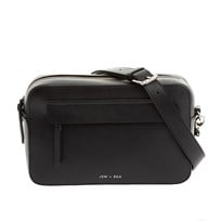 bd81f964d6 Jem + Bea Cara Crossbody Changing Bag Black Leather Black
