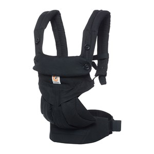Ergobaby 360 Baby Carrier Pure Black One Size