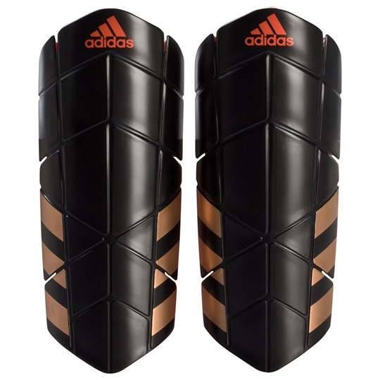 adidas Performance Black and Red Ghost Pro Shin Guards BLACK/SOLAR RED