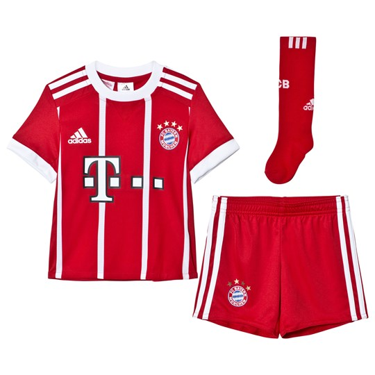 27faf5318 Bayern Munich FC Bayern Munich ´17 Kids Home Kit Top FCB TRUE RED