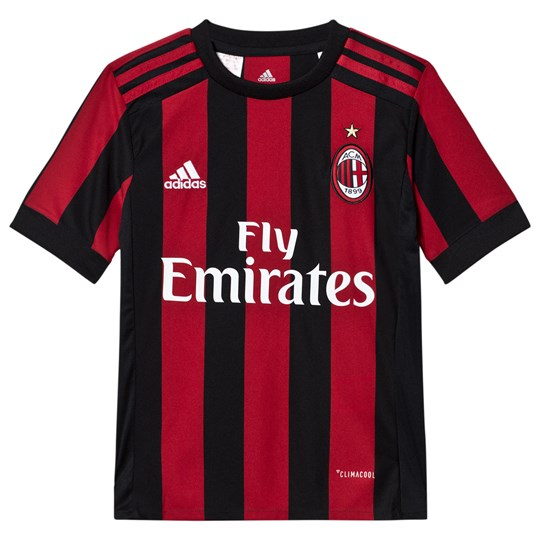 AC Milan AC Milan ´17 Junior Home Shirt VICTORY RED S04/BLACK