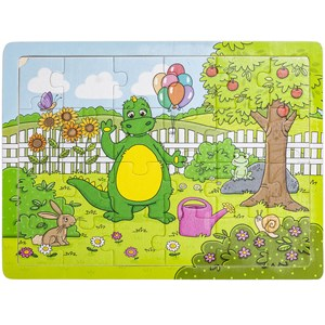 Bolibompa Dragon in the Garden Puzzle 24 Pieces 3 - 5 years