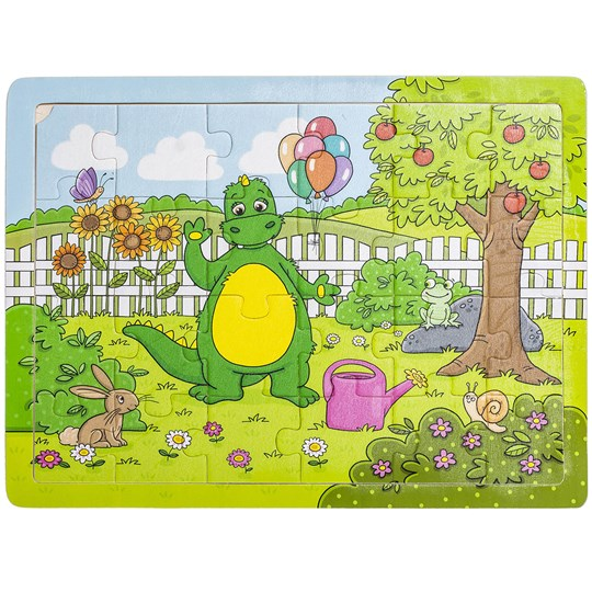 Bolibompa Dragon in the Garden Puzzle 24 Pieces