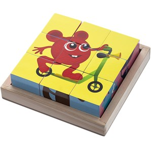 Image of Babblarna Cube Puzzle 9 Pieces 12 months - 3 years (3145733463)