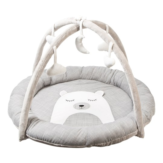 STOY Baby Gym Lovely Bear Grey