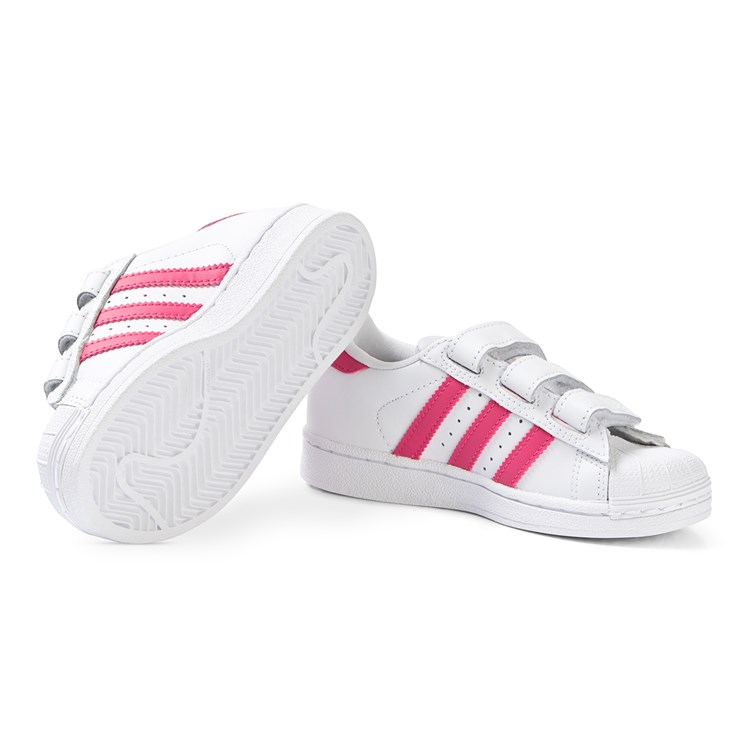 adidas Originals Superstar Velcro Kids Sneakers White and