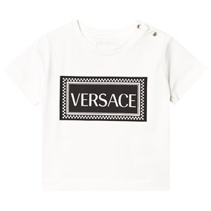 Image of Versace White Branded Tee 12 months (3125287565)