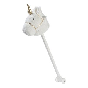 Image of STOY Play Hobby Horse Unicorn White (3125236457)