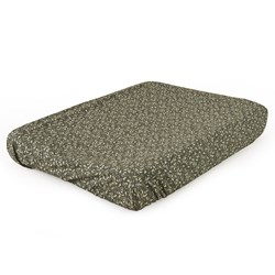 garbo&friends Floral Moss Changing Mat Cover