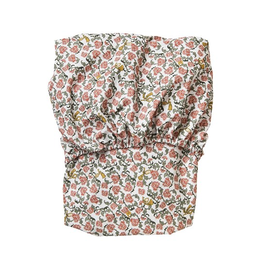 garbo&friends Floral Vine Adult Fitted Sheet Multi