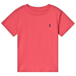 Image of Ralph Lauren Red Heather Tee 3 years (3125264153)