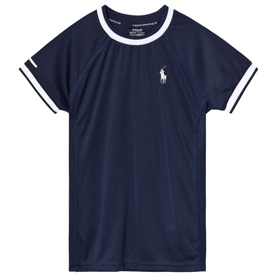 Ralph Lauren Navy and White Lightweight Tech Tee 003