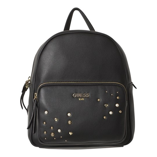 Guess Black Pearl Studded Backpack JBLK