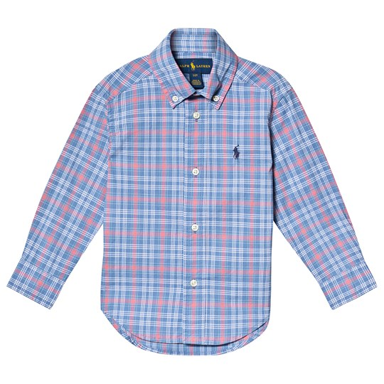 Ralph Lauren Blue and Pink Check Shirt 003