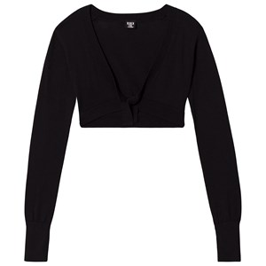 Image of Bloch Black Willa Bow Back Knit Top 12 years (3125267223)