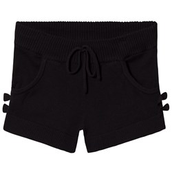 Bloch Black Sia Bow Sweat Shorts