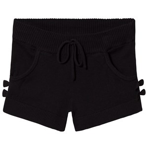 Image of Bloch Black Sia Bow Sweat Shorts 6-7 years (3125267233)