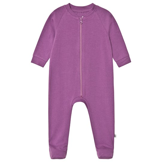 A Happy Brand Footed Baby Body Purple