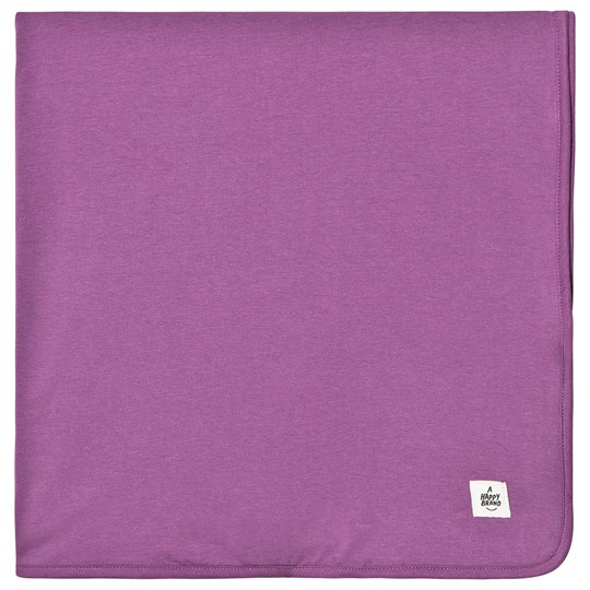 A Happy Brand Reversible Blanket Purple