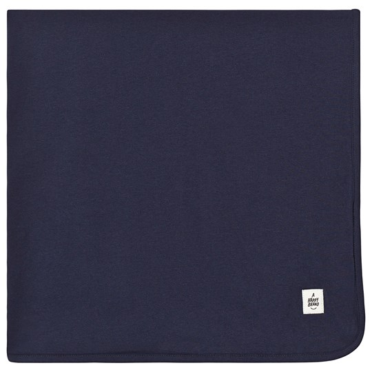A Happy Brand Reversible Blanket Blue