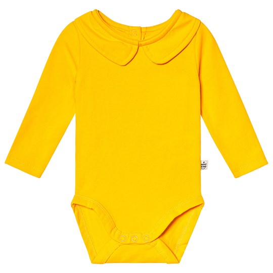 A Happy Brand Collar Baby Body Yellow