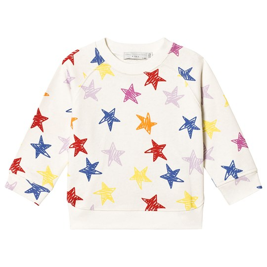 Stella McCartney Kids Multicolor Stars Sweatshirt 9088 - Multicolor Stars Whi