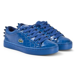 Image of Lacoste Blue Glossy Crocodile Patterned Straightset 119 sko 28 (UK 10) (3125230411)