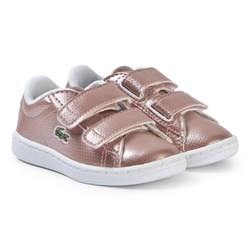 Lacoste Rose Gold Carnaby Evo 119 Velcro Shoes