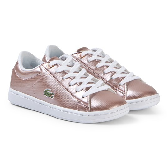 Lacoste Rose Gold Carnaby Evo 119 Shoes PNK/WHT