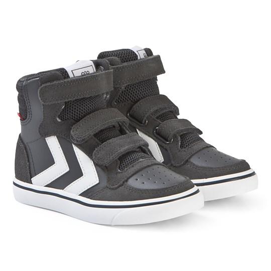 Hummel Stadil High Top Junior Sneakers Asphalt Asphalt