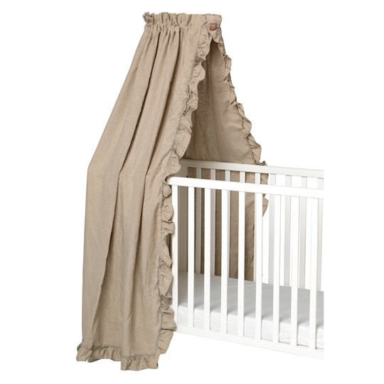 NG Baby Mood Ruffles Bed Canopy Natural Natural