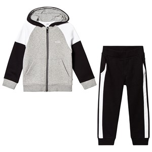 Image of BOSS Black and Grey Branded Tracksuit 10 years (3125233393)