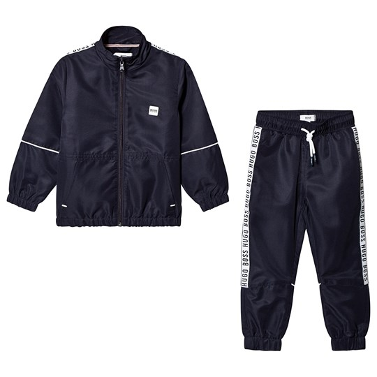 BOSS Navy Branded Tracksuit 849