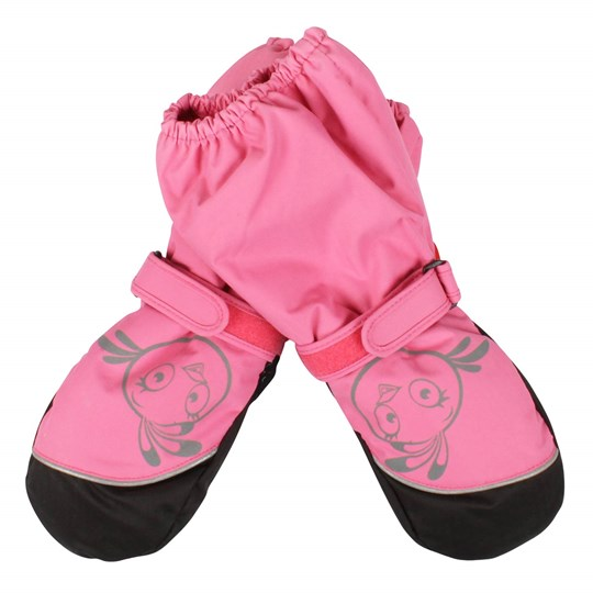 Reima Angry Birds Mittens Pink Pink
