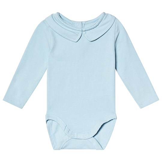 A Happy Brand Collar Baby Body Blue